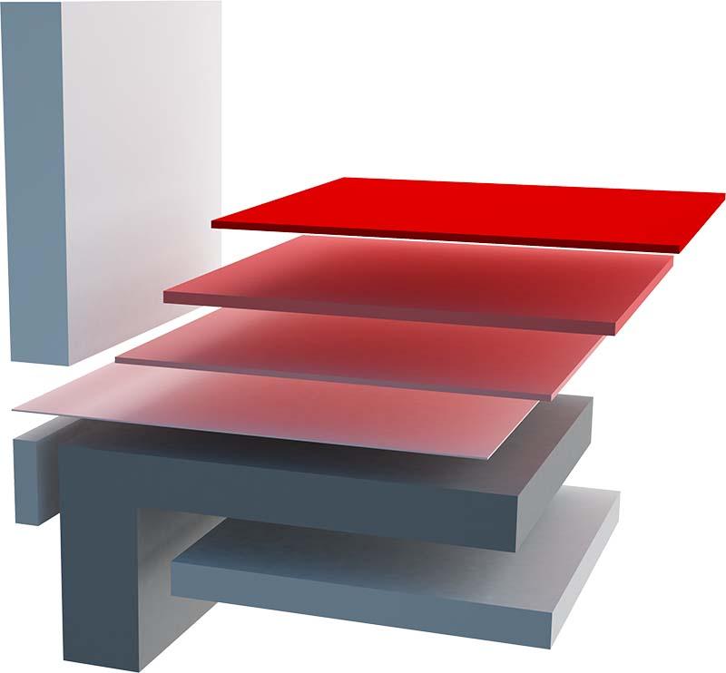 Aufbau einer Bodenplatte