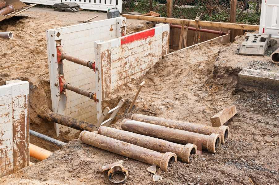 Sanierung einer Entwässerungsanlage