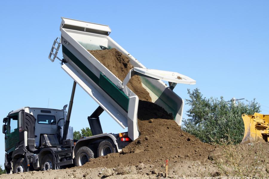 Job für einen Baumaschinisten oder LKW-Fahrer
